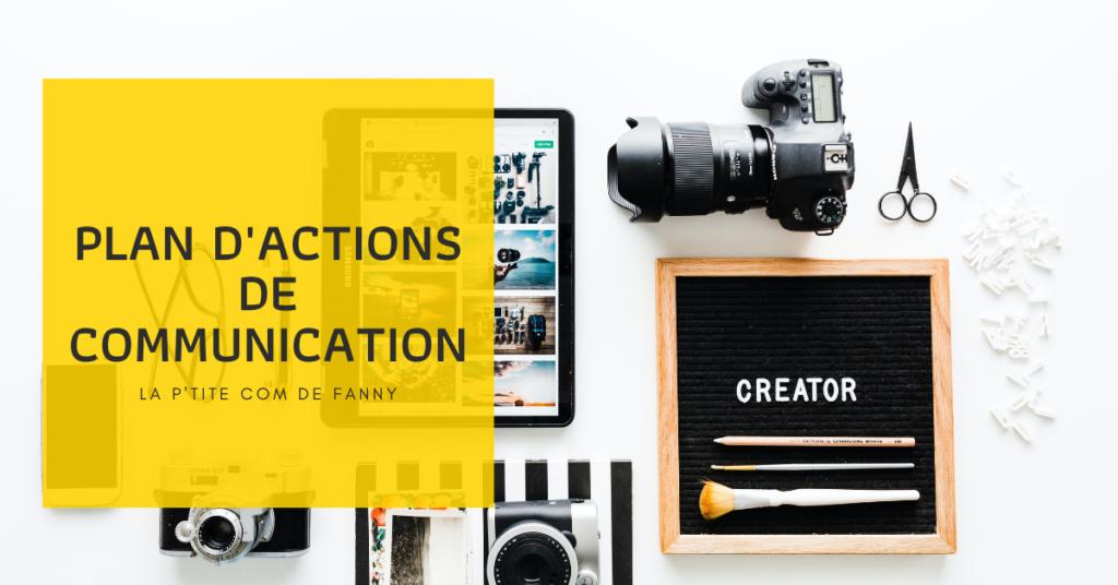 formation plan d'actions et de communication